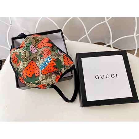 GUCCI Cute Vivid floral pattern  face mask