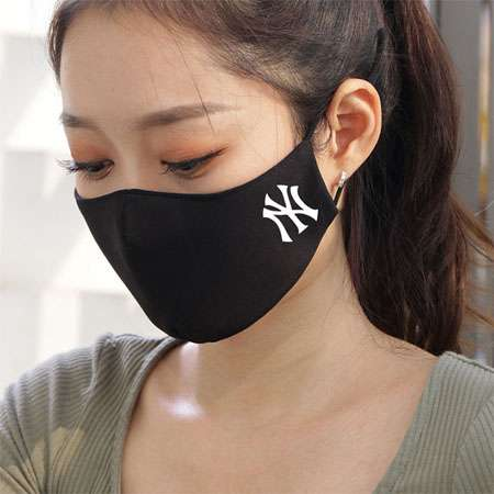NYY brand fashion sports 3D mask