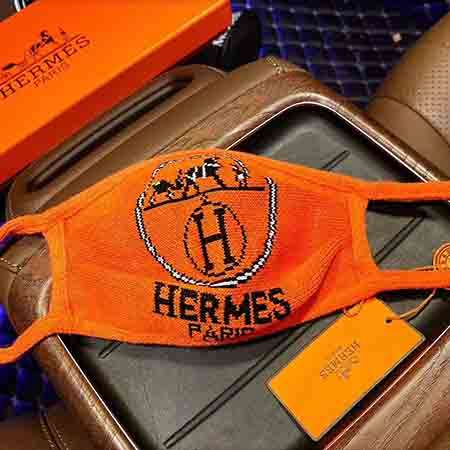 Hermes Burberry Fendi  3D Knitted masks