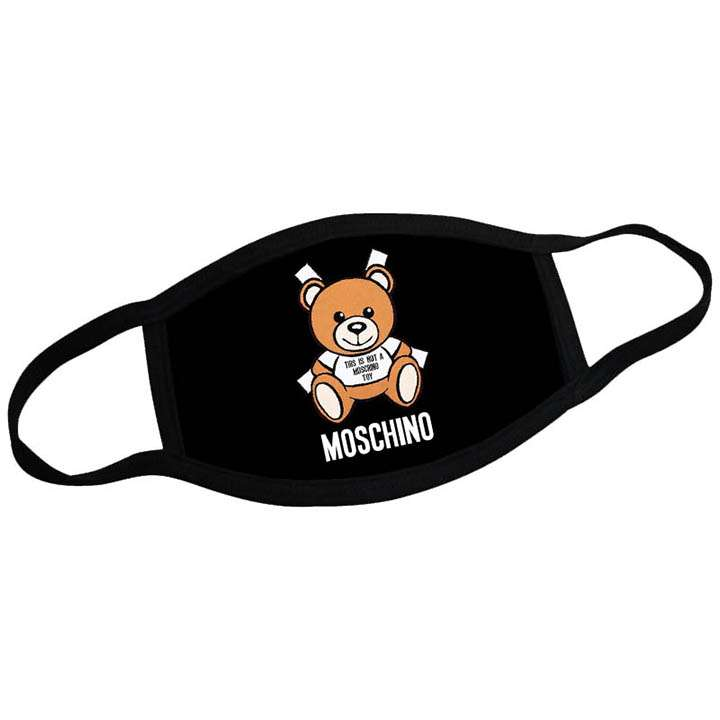 Moschino face mask